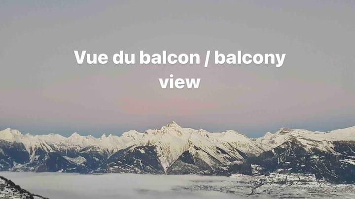 Studio Bellevue 2 ❤️ 200 m ski lift