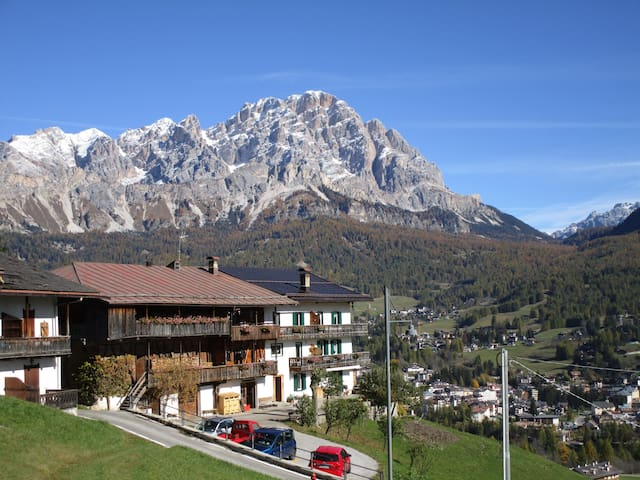 Spectacular views on the Dolomites of Cortina!