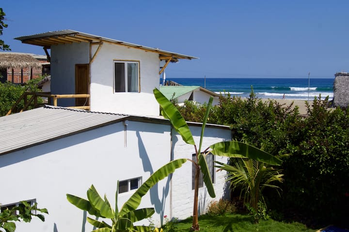 El Mirador: Oceanview w Private Kitchenette & Pool - Ayampe - Flat