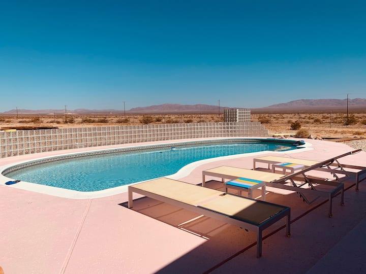 Wonderland Pool Haus Joshua Tree/ 29Palms Oasis