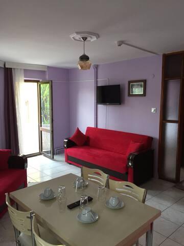 Yarenler Family flats (1+1 luxery flats) &Balcony