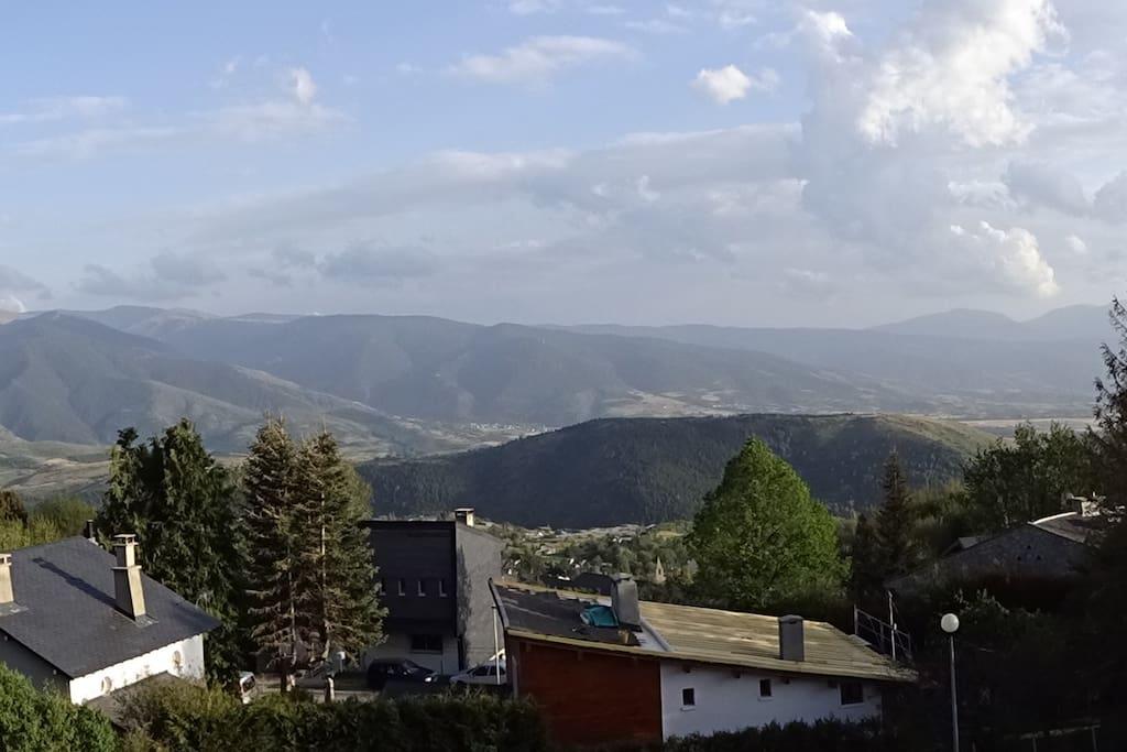Vue Panoramique du Balcon