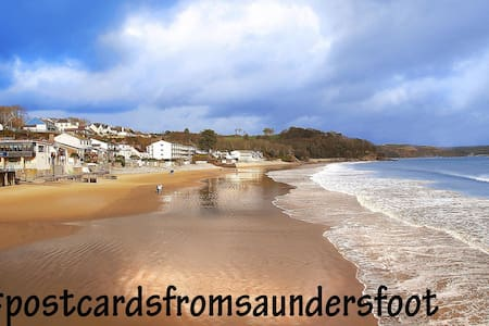 Luxury Boutique Family Holiday Home close to beach - Saundersfoot - Rumah