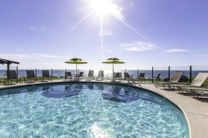 At the Beach!  **Wave Crest Resort**