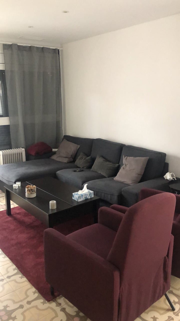 Double spacious room in luxury flat