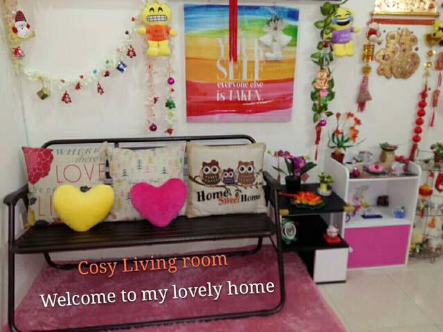 Beautiful Cosy Living Room, Home Sweet Home.