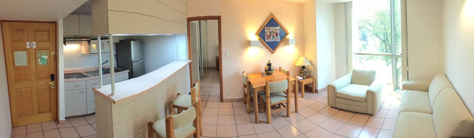 Suite 621 - 01 Recámara-01 Baño
