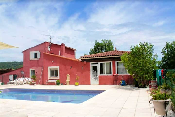 Villa with 4 bedrooms in Tourrettes, with private pool, enclosed garden and WiFi