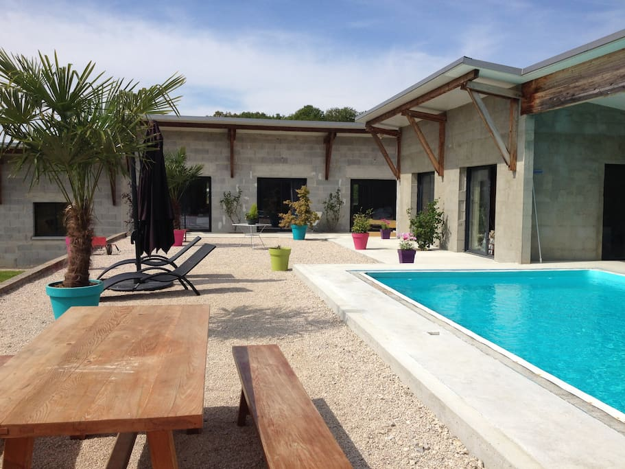 Gite cosy avec terrasse piscine sauna houses for rent in for Piscine franche comte