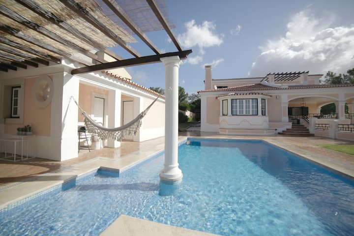 Gated Spacious Noble Villa with Huge Garden & Pool