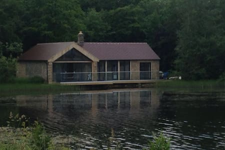 A very special lakeside location - The Boathouse