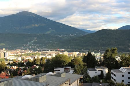 Comfortable SofaBed with Beautiful City View - Innsbruck - Bed & Breakfast