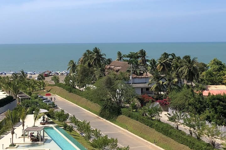 Apartment Cartagena beachfront oceanview Morros Ec