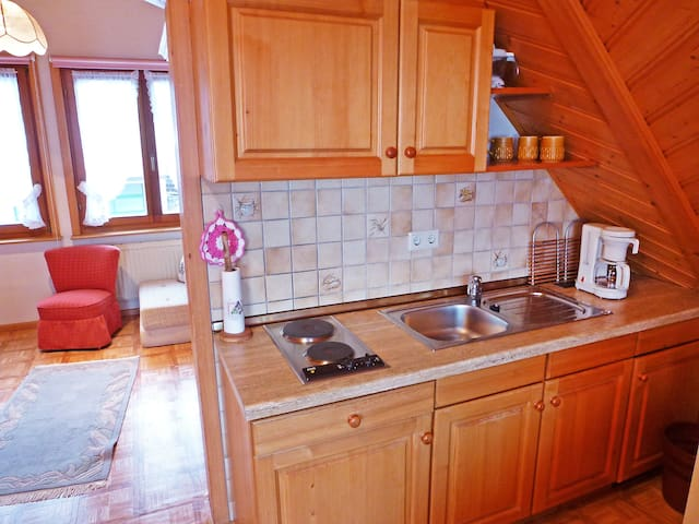 1-room apartment 36 m² Haus Schwär for 4 persons in Furtwangen - Furtwangen - Daire