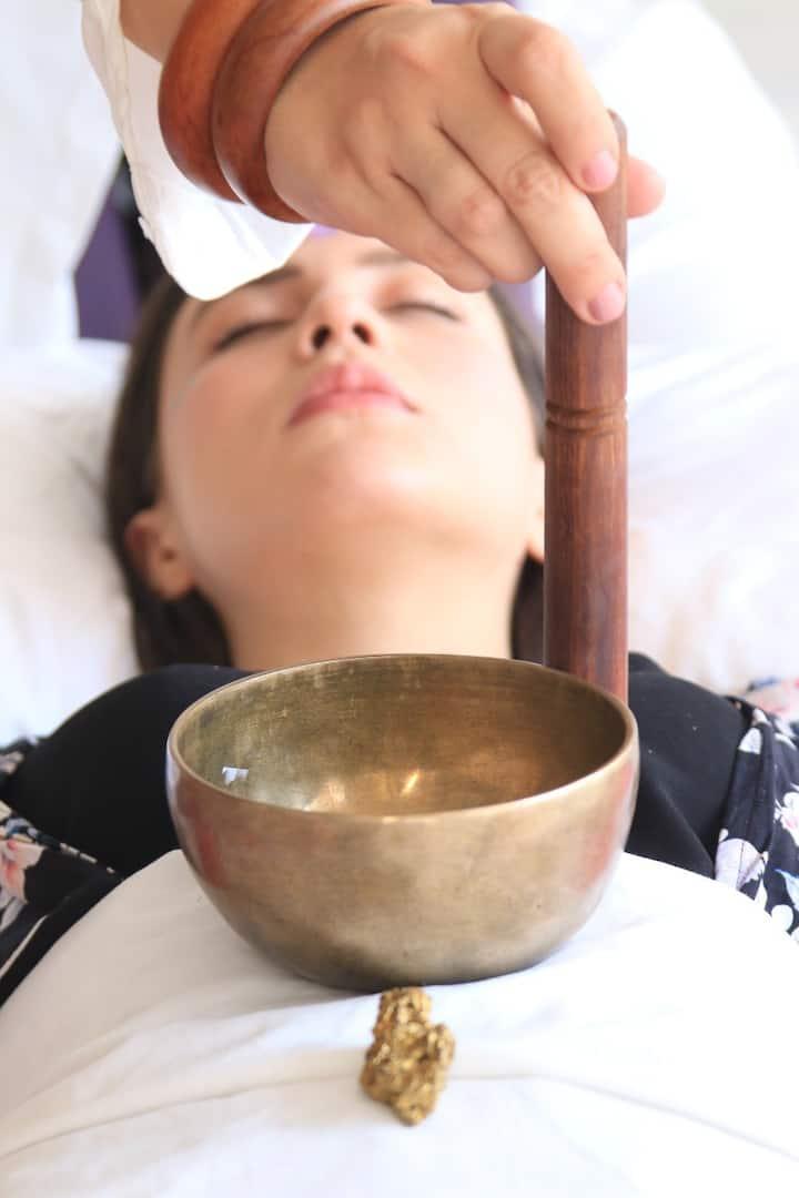 Solar Plexus Approach. Sound Healing