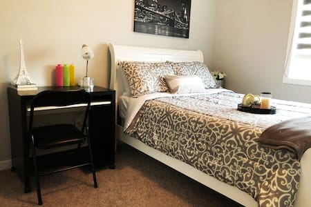 Cute and conducive room