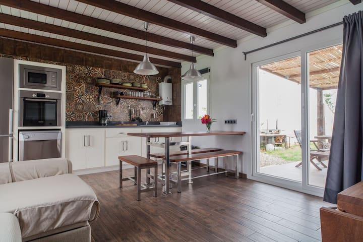House in Tarifa beach in valdevaqueros