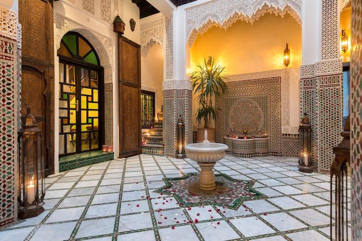 le Riad Algilà Fès, une charmante maison arabe