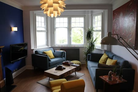 Double room in Art Deco mansion flat - London - Wohnung
