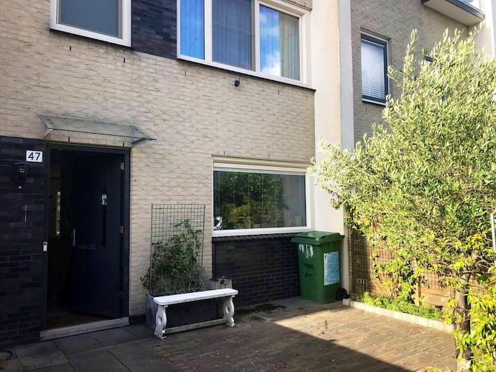 Private home with garden near Amsterdam
