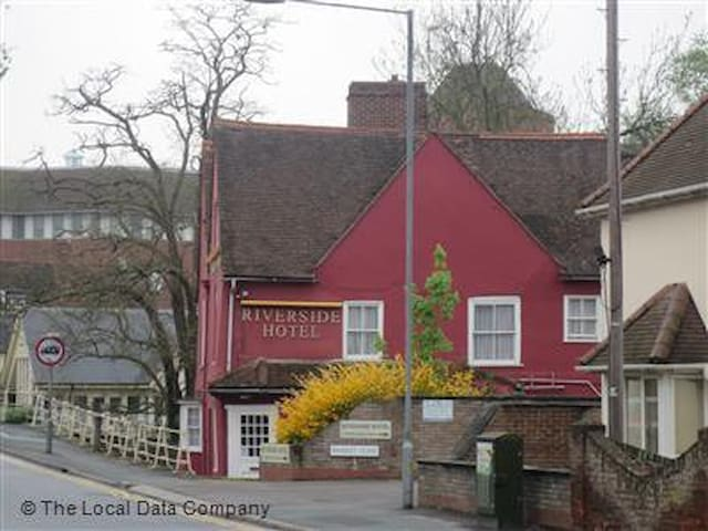 Riveride Hotel Colcheter - Double En-Suite Room - Colchester - Bed & Breakfast