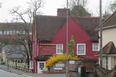 Riveride Hotel Colcheter - Double En-Suite Room - 科尔切斯特(Colchester) - 住宿加早餐