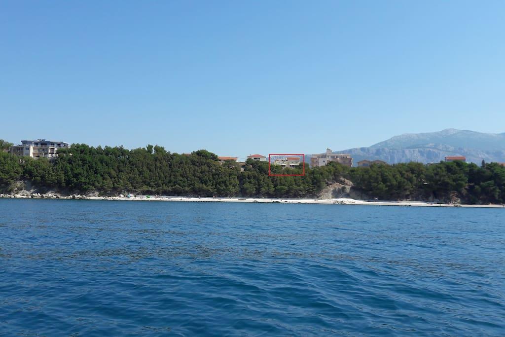 Plaža-okoliš