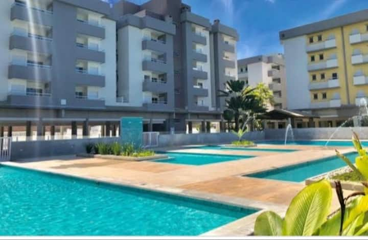 New apartment, 5 pools  300m close to the beach