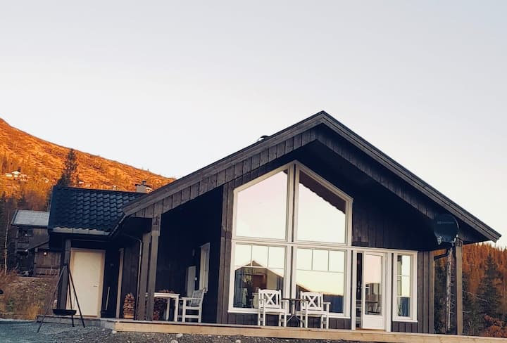 Hytte på Bjørgan
