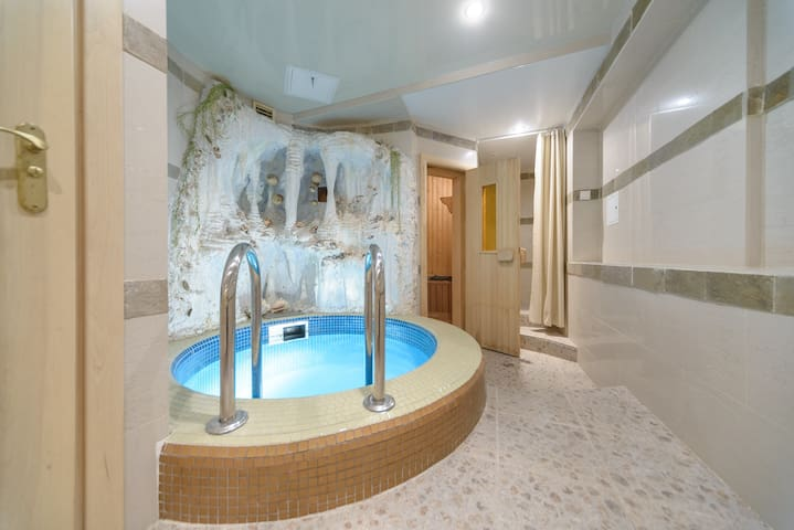 5-room apartment on 3 Bankova st. with pool