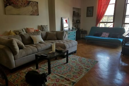 Entire place 5 min drive to NYC!! - Weehawken - Íbúð