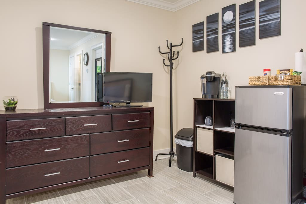 Ample space and storage for settling in no matter the length of your stay.