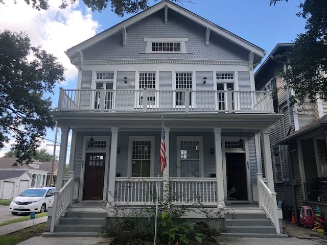 1800 sq ft. Traditional New Orleans Mid City Home