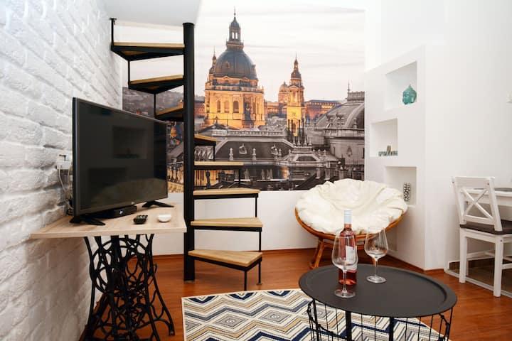 Alba BudaPest - Apartment w/ AC