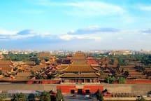地铁直达北京最著名的经典故宫和天安门,超级方便。