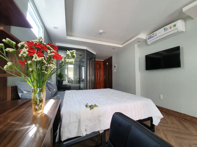 DS. Convenient room in NhaTrang CBD. NewHome apt