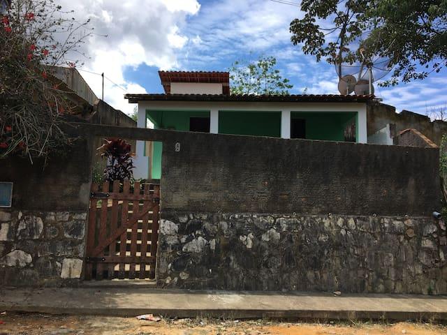 Casa rústica, simples e tranquila em Guaramiranga - Guaramiranga - Blockhütte