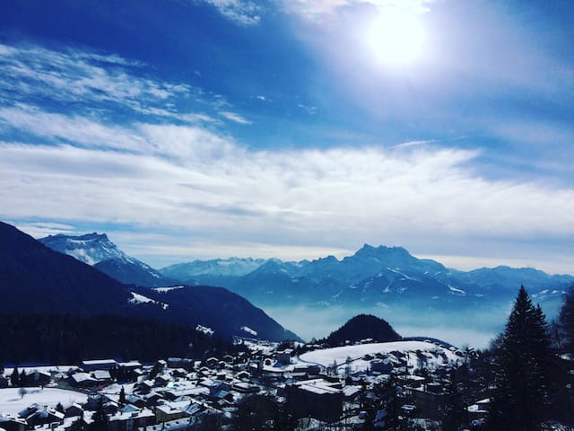 Mountain view - Leysin - Pis