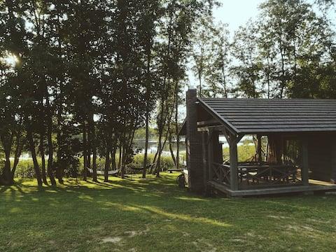 Mėnulės cabin/sauna