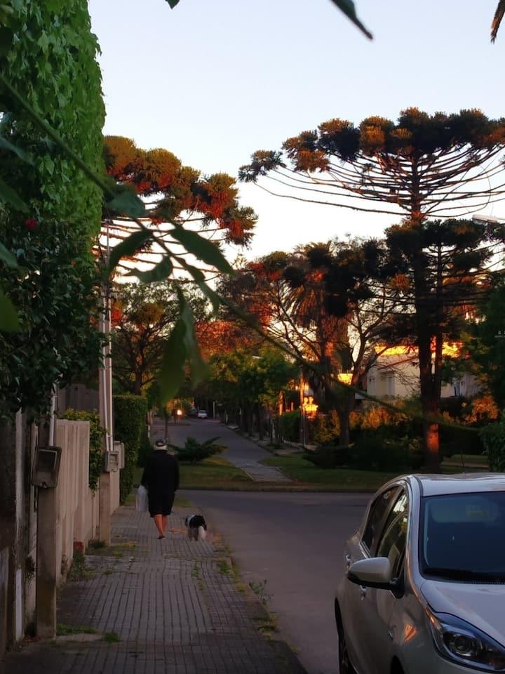 Casa cómoda en un hermoso lugar de Montevideo