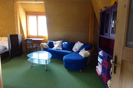 fantastic room in a historic house, minimum 28days - Murnau am Staffelsee - House