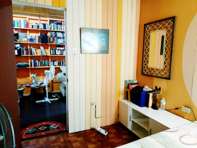 Private Room #2 at Santurce (Home/Library)