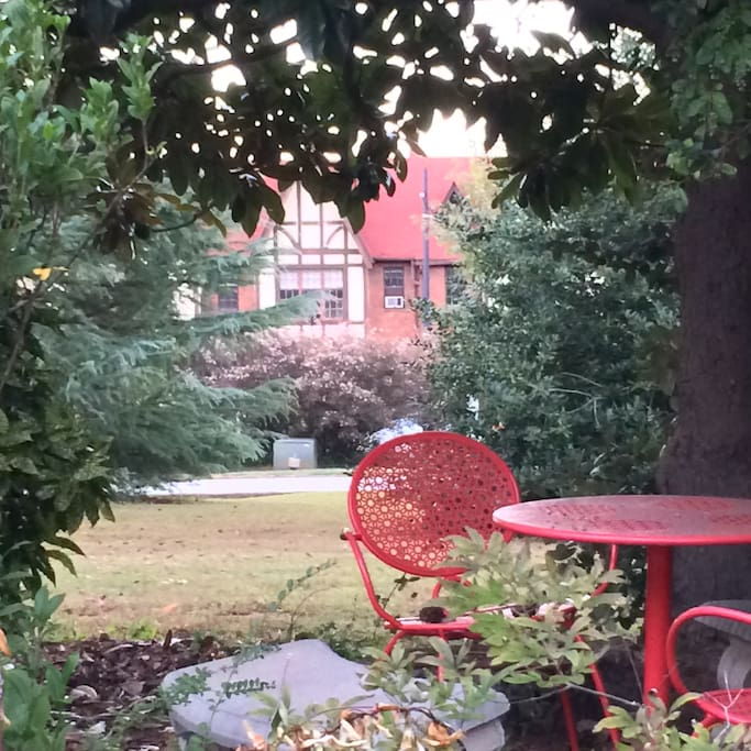 View to Tudor village from front yard