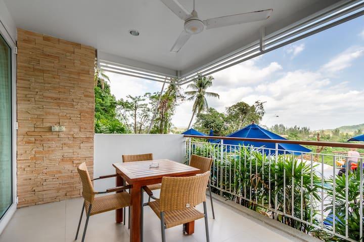 Phuket, The Park Surin, 102 apt with pool access