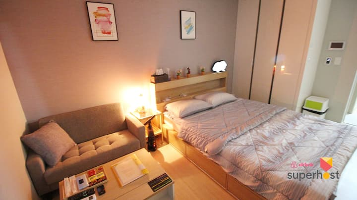 ★Ocean View DS Cozy House - Near Busan KTX #3★