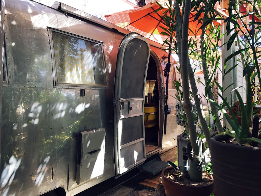 The Airdream is a renovated 1965 Ambassador by Airstream.