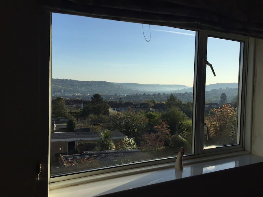 Window in Master bedroom