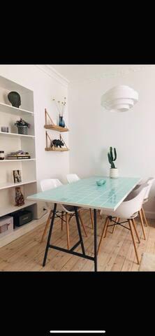 Stylish apartment in the heart of Copenhagen