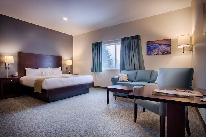 Stowe Escape Boutique Hotel Jr Suite One King Bed