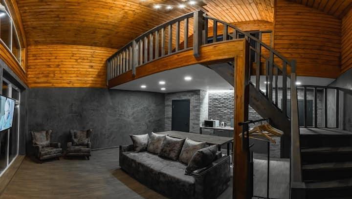 Скандинавский дом (Scandinavian guest house)